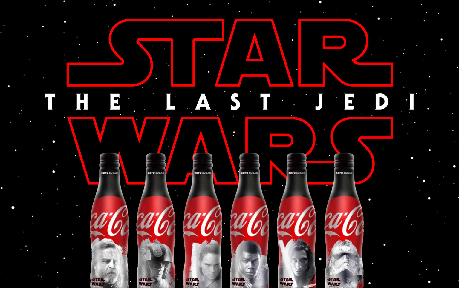 Star Wars The Last Jedi Coca Cola