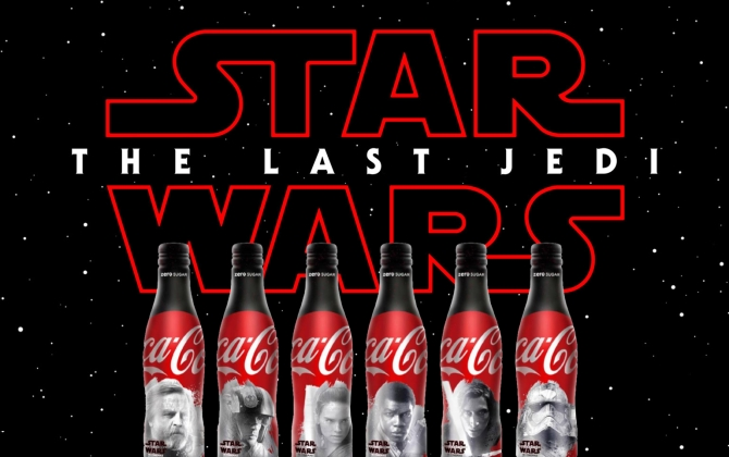 Star Wars The Last Jedi Coca Cola